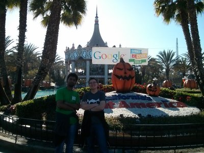 Me and Angie at California's Great America